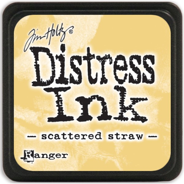 Bild von Tim Holtz Distress Mini Stempelkissen 2,5x2,5cm Scattered Straw