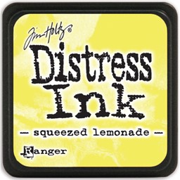 Bild von Tim Holtz Distress Mini Stempelkissen 2,5x2,5cm Squeezed Lemonade