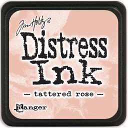 Bild von Tim Holtz Distress Mini Stempelkissen 2,5x2,5cm Tattered Rose