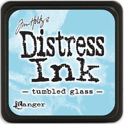 Bild von Tim Holtz Distress Mini Stempelkissen 2,5x2,5cm Tumbled Glass