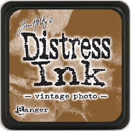 Bild von Tim Holtz Distress Mini Stempelkissen 2,5x2,5cm Vintage Photo