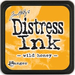 Bild von Tim Holtz Distress Mini Stempelkissen 2,5x2,5cm Wild Honey