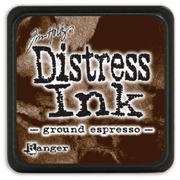 Bild von Tim Holtz Distress Mini Stempelkissen 2,5x2,5cm Ground Espresso