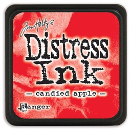 Bild von Tim Holtz Distress Mini Stempelkissen 2,5x2,5cm Candied Apple