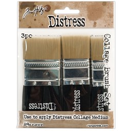 "Bild von Tim Holtz Distress Collage Brush Assortment jeweils 3/4"", 1-1/4"" & 1-3/4"""