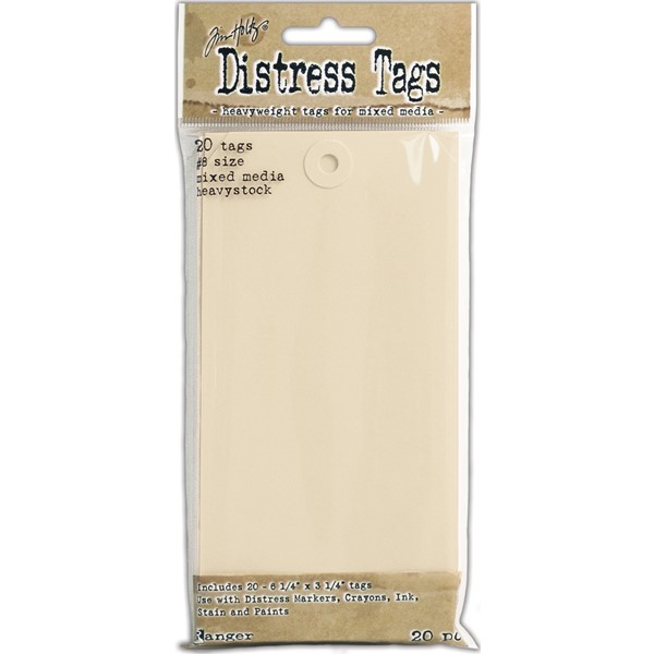 Bild von Tim Holtz Distress Heavystock Tags #8 20/Pkg