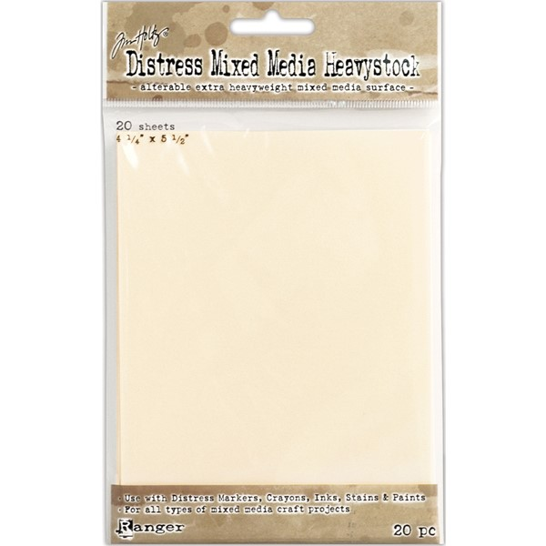 "Bild von Tim Holtz Distress Heavystock Tags 20/Pkg-4.25""X5.5"""