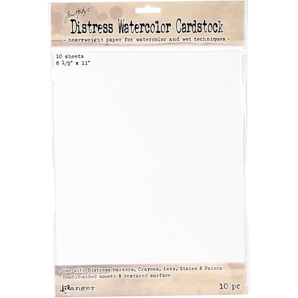 "Bild von Tim Holtz Distress Watercolor Cardstock 10/Pkg 8.5""X11"""