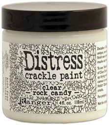 Bild von Tim Holtz Distress Crackle Paint 4oz-Clear Rock Candy