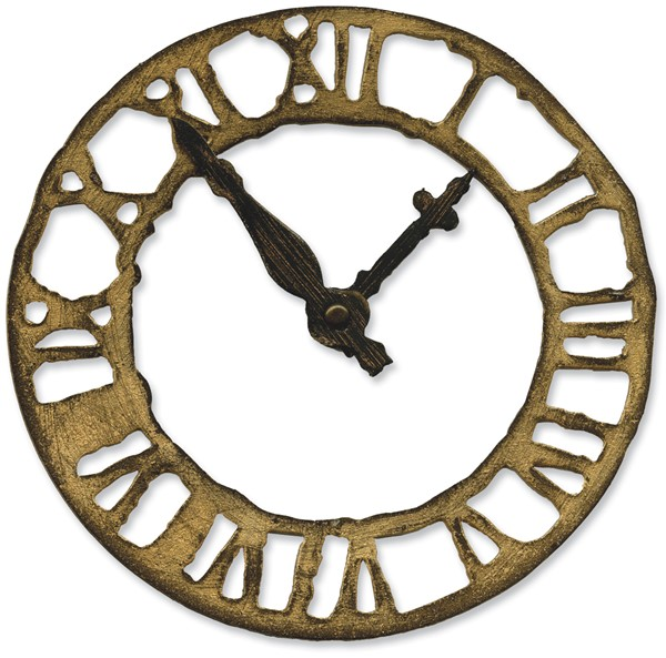 Bild von Sizzix Bigz Stanze by Tim Holtz 14 x 15 cm Weathered Clock