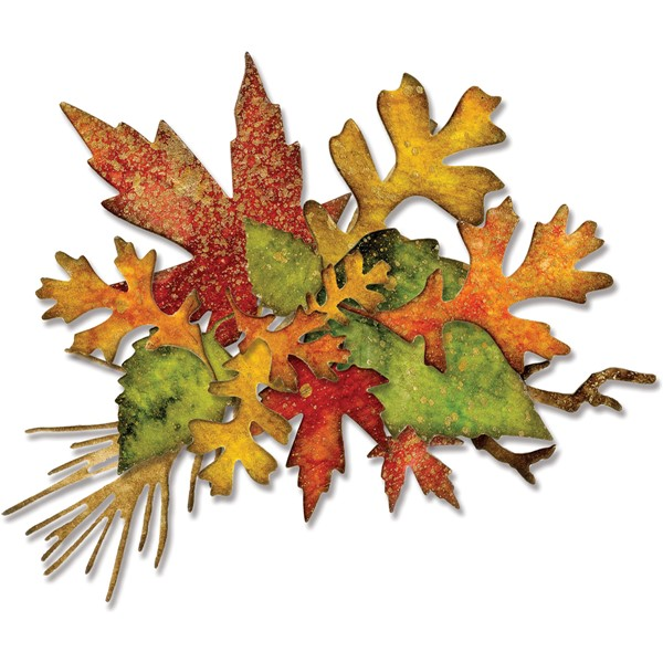 Bild von Sizzix Thinlits Stanze By Tim Holtz 14/Pkg Fall Foliage