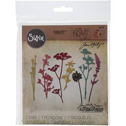 Bild von Sizzix Thinlits Stanze By Tim Holtz 7/Pkg Wildflowers