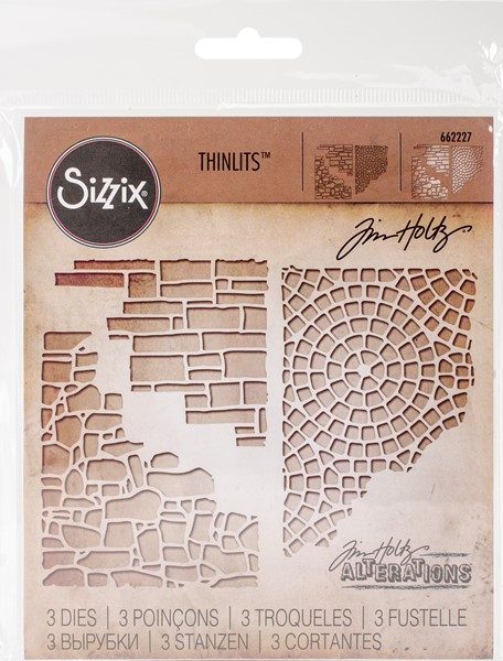 Bild von Sizzix Thinlits Stanze By Tim Holtz 3/Pkg Mixed Media #4