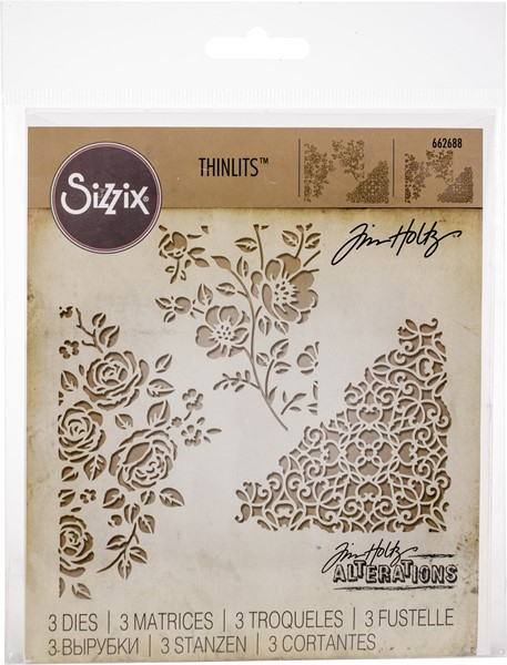 Bild von Sizzix Thinlits Stanze By Tim Holtz  Mixed Media #5