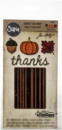 Bild von Sizzix Sidekick Stanzen & Embossing Set  By Tim Holtz Autumn