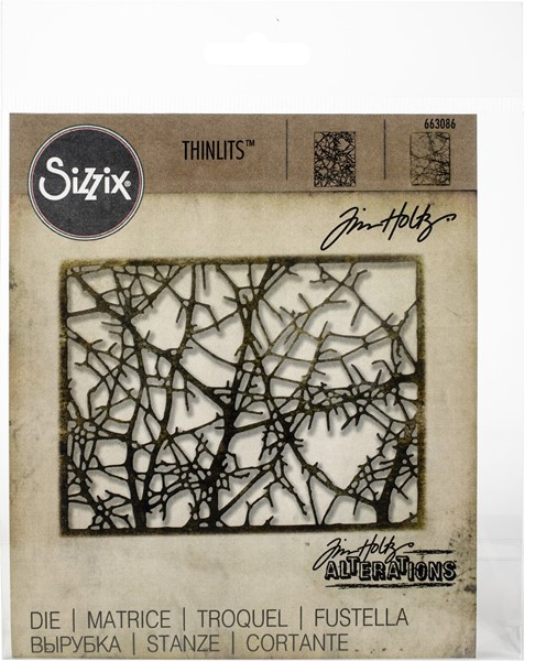 Bild von Sizzix Thinlits Stanze By Tim Holtz Tangled Twigs