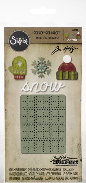 Bild von Sizzix Sidekick Stanzen & Embossing Set  By Tim Holtz Winter