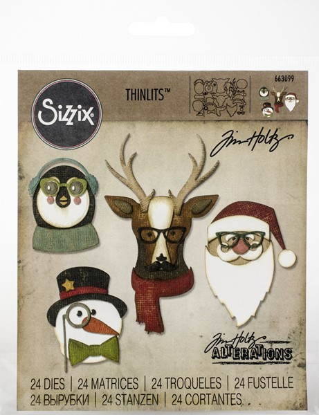 Bild von Sizzix Thinlits Stanze By Tim Holtz 31/Pkg Cool Yule