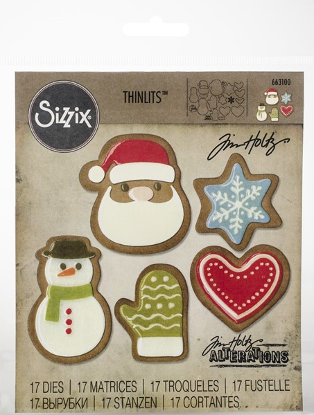 Bild von Sizzix Thinlits Stanze By Tim Holtz 19/Pkg Fresh Baked #1