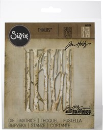 Bild von Sizzix Thinlits Stanze By Tim Holtz Branched Birch