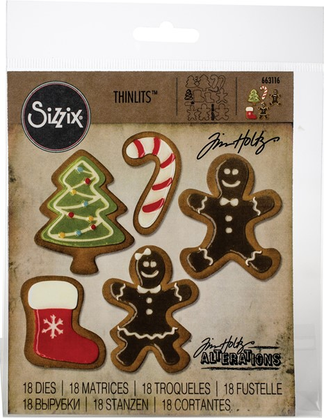 Bild von Sizzix Thinlits Stanze By Tim Holtz 18/Pkg Fresh Baked #2
