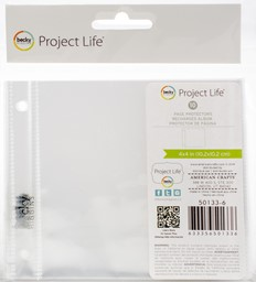 "Bild von Project Life Photo Pocket Pages 4""X4"" 10/Pkg-Full Page"