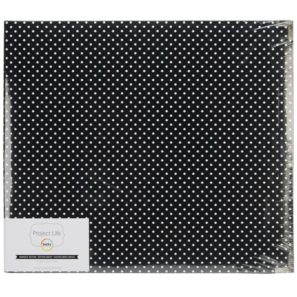 "Bild von Project Life Glossy D-Ring Album 12""X12"" Midnight Edition - Dots"