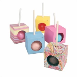 Bild von Sizzix Bigz Large Stanze Cake Pop Kuchenlolly Box