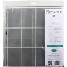 "Bild von Project Life Photo Pocket Pages 12""X12"" 12/Pkg-Heidi Swapp -Landscape Panoramic"