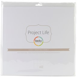 Bild von Project Life Photo Pocket Pages 12/Pkg-Design D