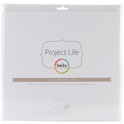 Bild von Project Life Photo Pocket Pages 12/Pkg-Design F