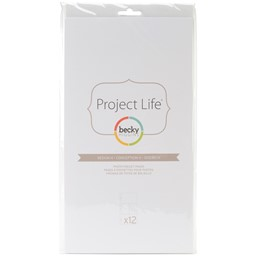 Bild von Project Life Photo Pocket Pages 12/Pkg-Design H