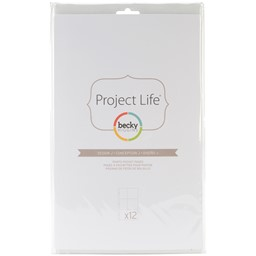Bild von Project Life Photo Pocket Pages 12/Pkg-Design J