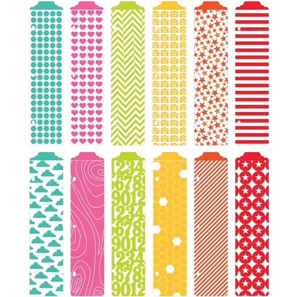 Bild von Project Life Designer Dividers 12/Pkg Honey Edition