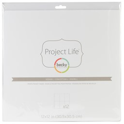 Bild von Project Life Photo Pocket Pages 12/Pkg-Design L