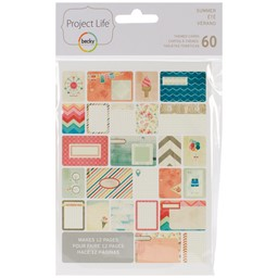 Bild von Project Life Themed Cards 60/Pkg-Summer