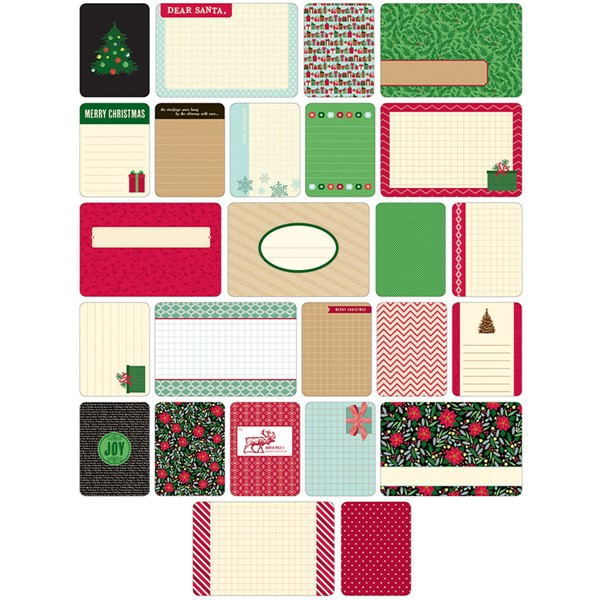 Bild von Project Life Themed Cards 40/Pkg-Christmas