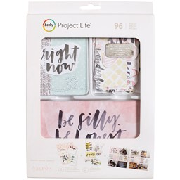 Bild von Project Life Value Kit 96/Pkg-Inspired W/Stitching & Die-Cuts
