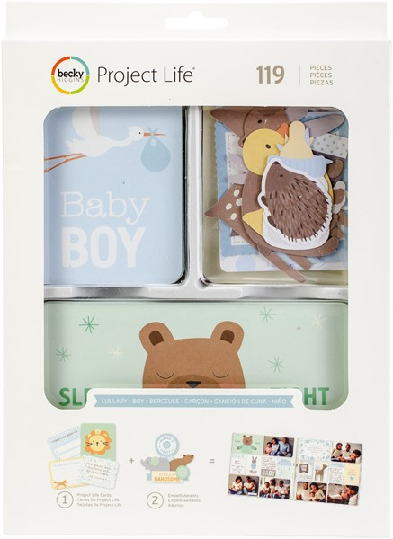 Bild von Project Life Value Kit 120/Pkg Lullaby Boy