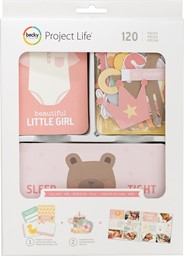 Bild von Project Life Value Kit 120/Pkg-Lullaby Girl