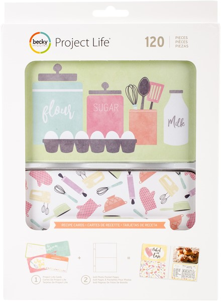 "Bild von Project Life Value Kit 120/Pkg 4""X6"" Recipe"
