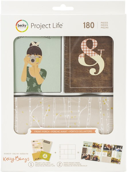 Bild von Project Life Value Kit 180/Pkg Front Porch