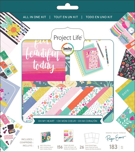 Bild von Project Life All-In-One Album Kit Paige Evans Oh My Heart
