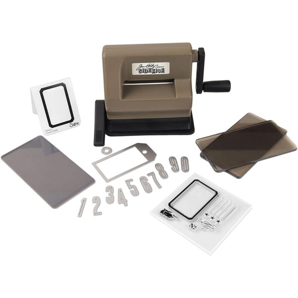 Bild von Sizzix Sidekick Starter Kit Featuring Tim Holtz Brown & Black