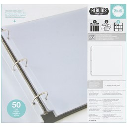"Bild von We R Ring Photo Sleeves 12""X12"" 50/Pkg-Full Page"