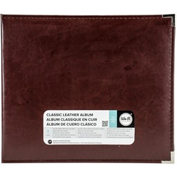 "Bild von We R Classic Leather D-Ring Album 12""X12""-Cinnamon"
