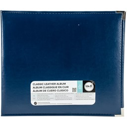 "Bild von We R Classic Leder D-Ring Album 12""X12""-Navy"