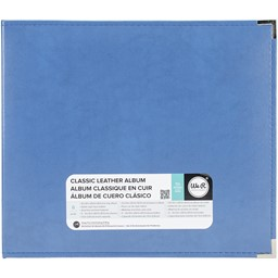 "Bild von We R Classic Leather D-Ring Album 12""X12""-Country Blue"