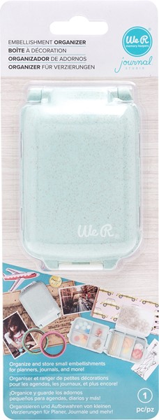 Bild von We R Journal Embellishment Organizer-Mint
