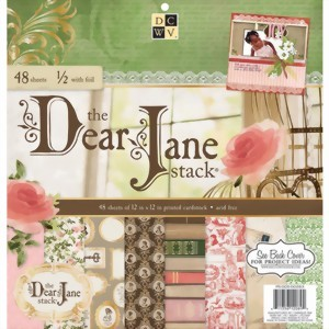 "Bild von DCWV The Dear Jane Stack 12""x12"" Papierblock"
